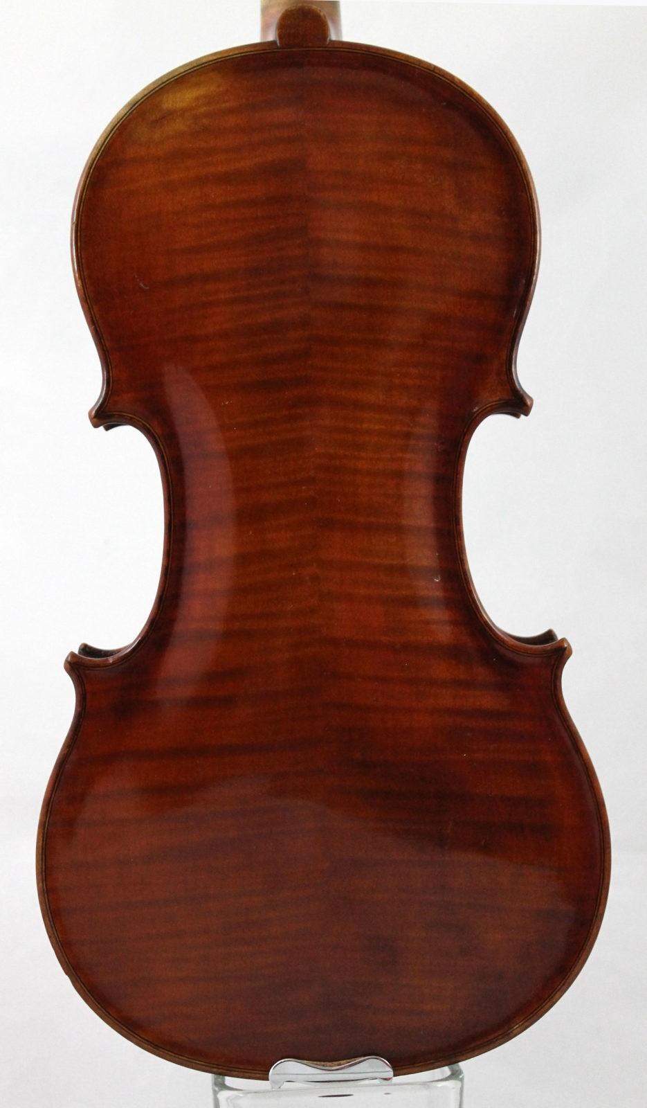 Raymond Collenot violin - back