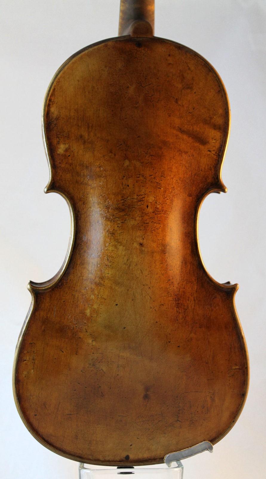 Amati violin for sale - back