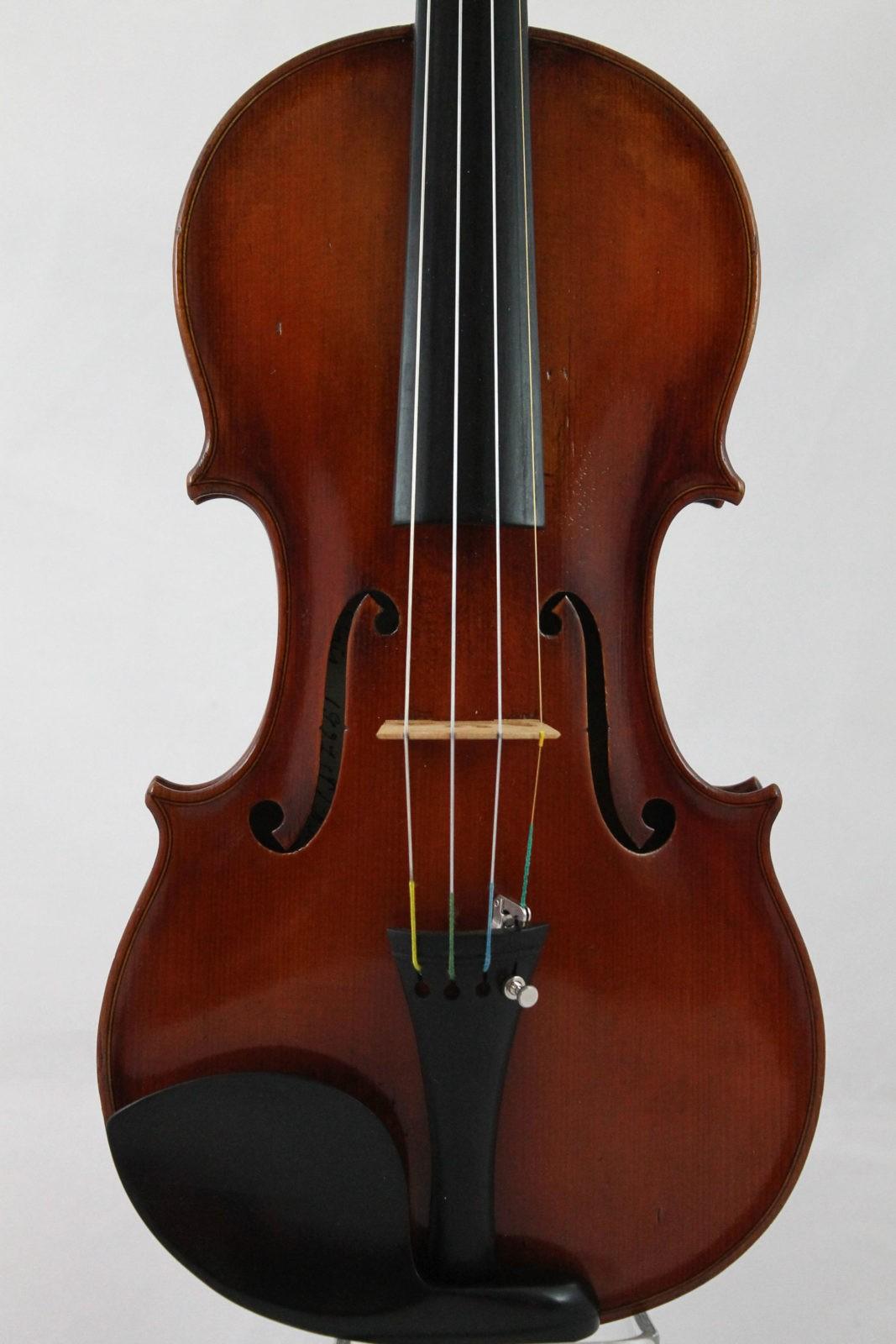 Raymond Collenot violin - front