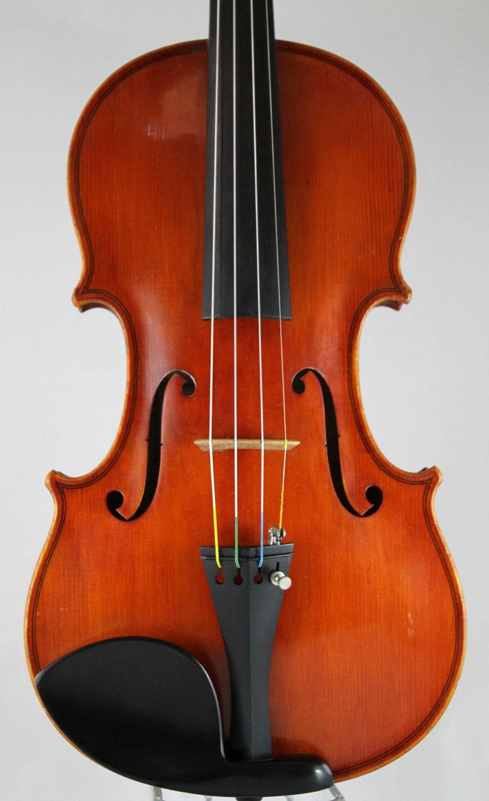 Heinrich Th Heberlein Jr violin - front