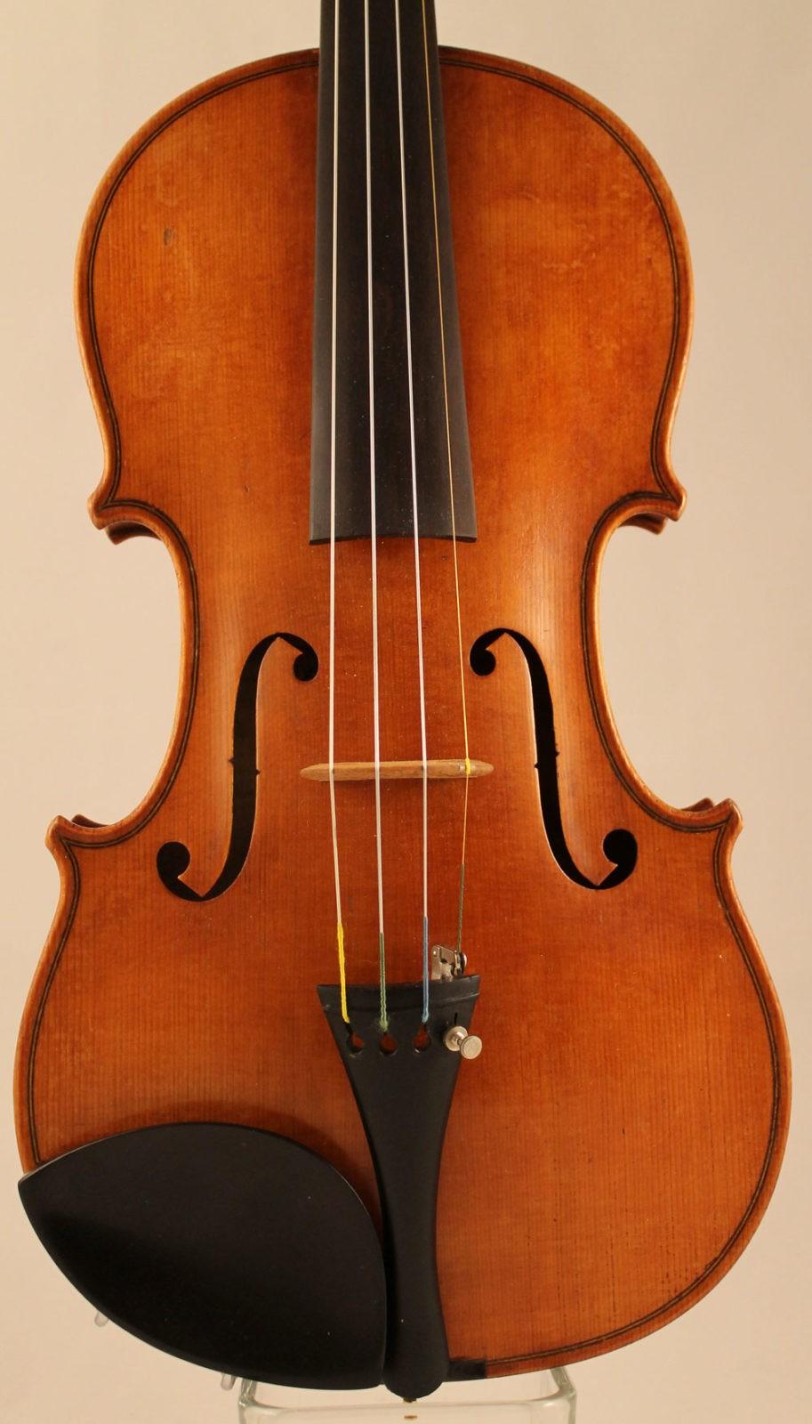 Eugene Langonet violin - top