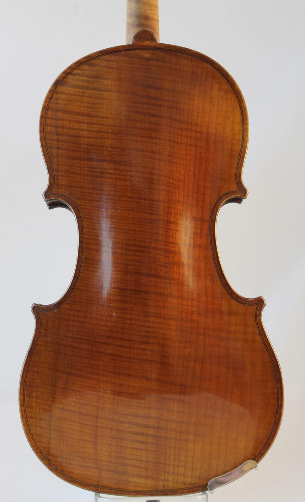 Leon Mougenot violin - bacl