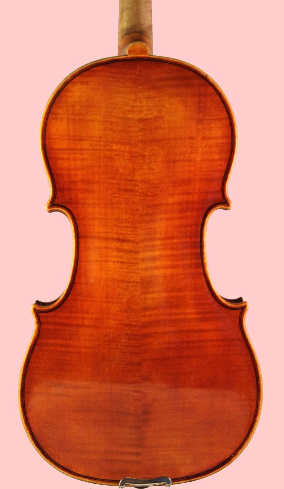 Ernst Heinrich Roth violin back