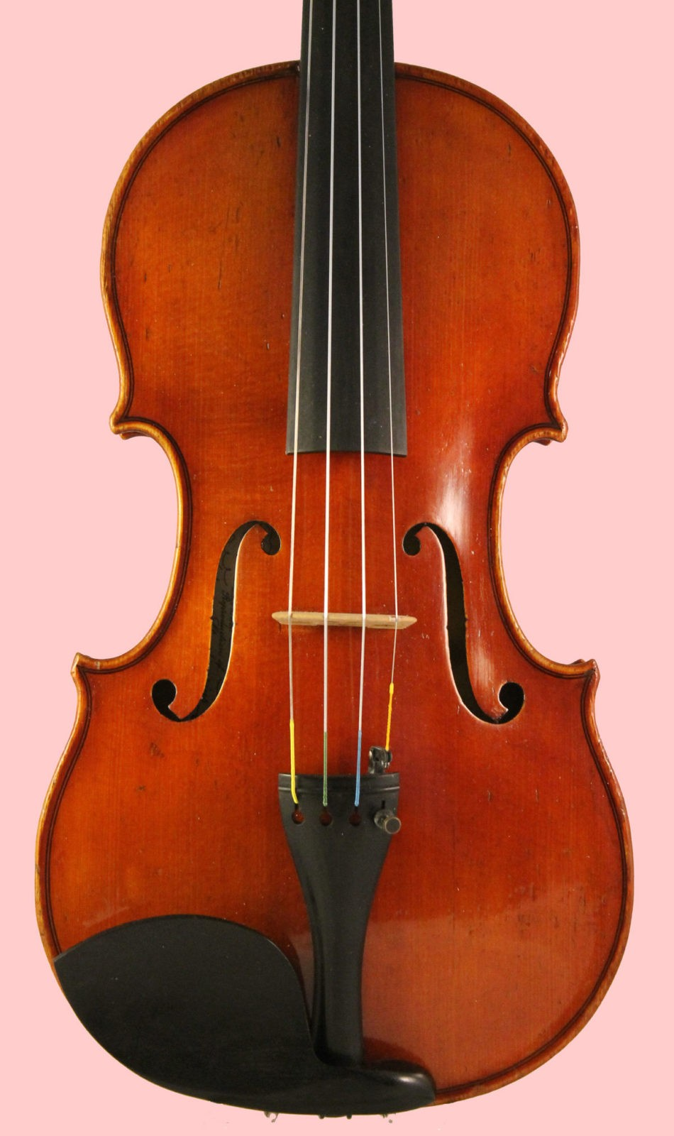 Ernst Heinrich Roth violin front
