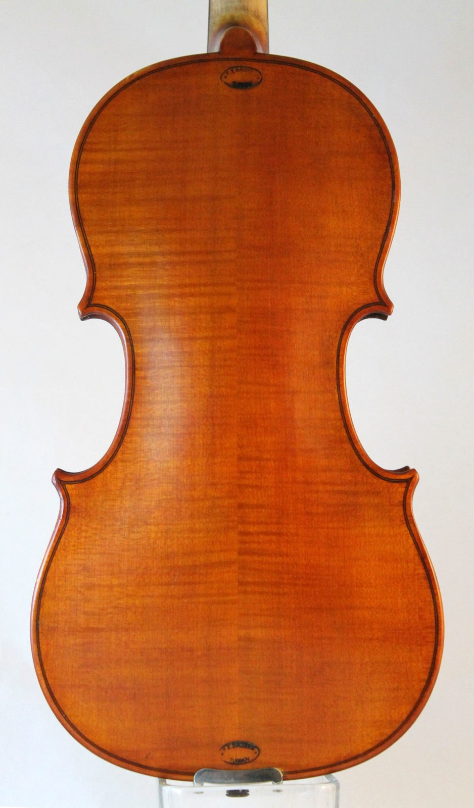 F X Drozen violin back