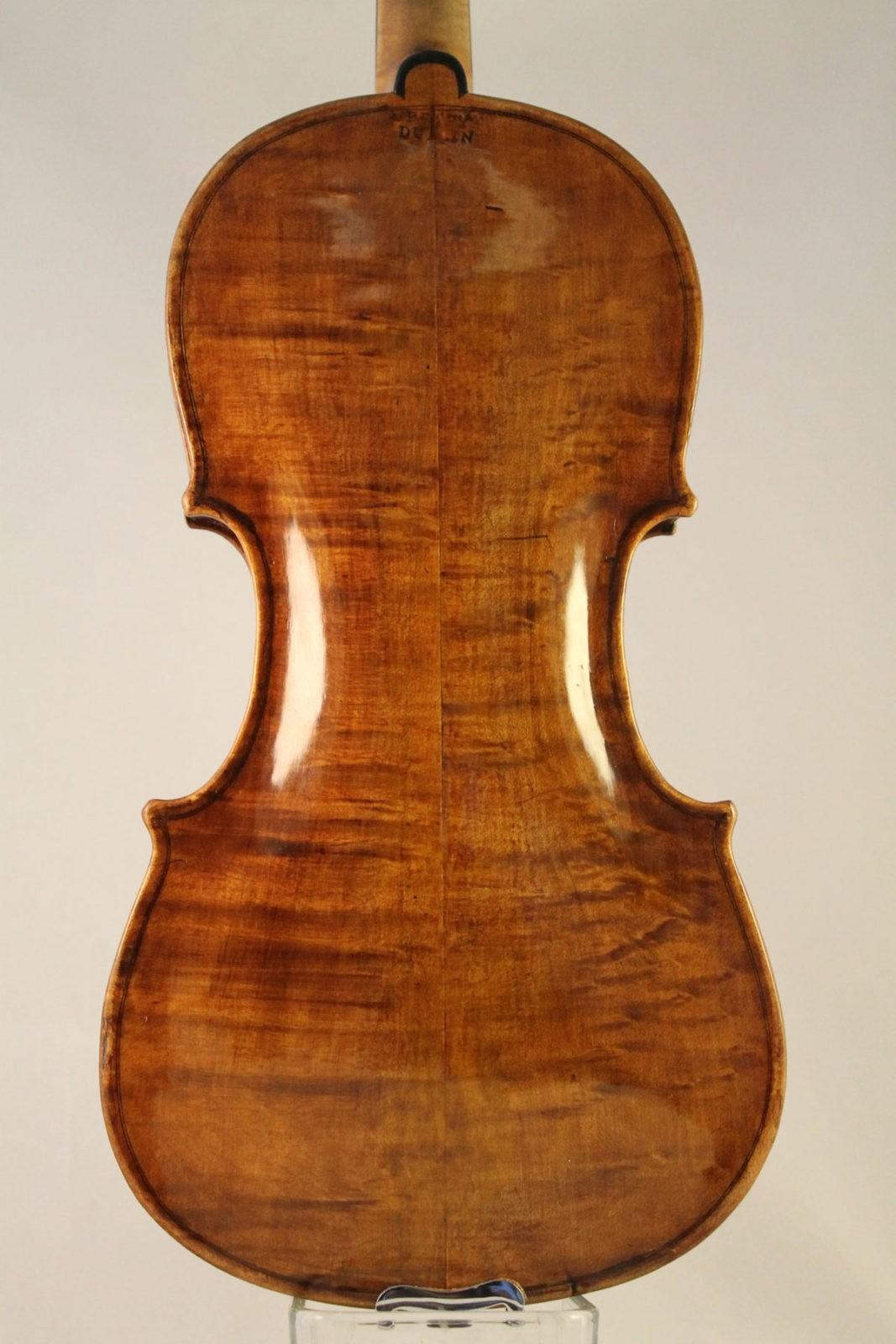 thomas perry violin back