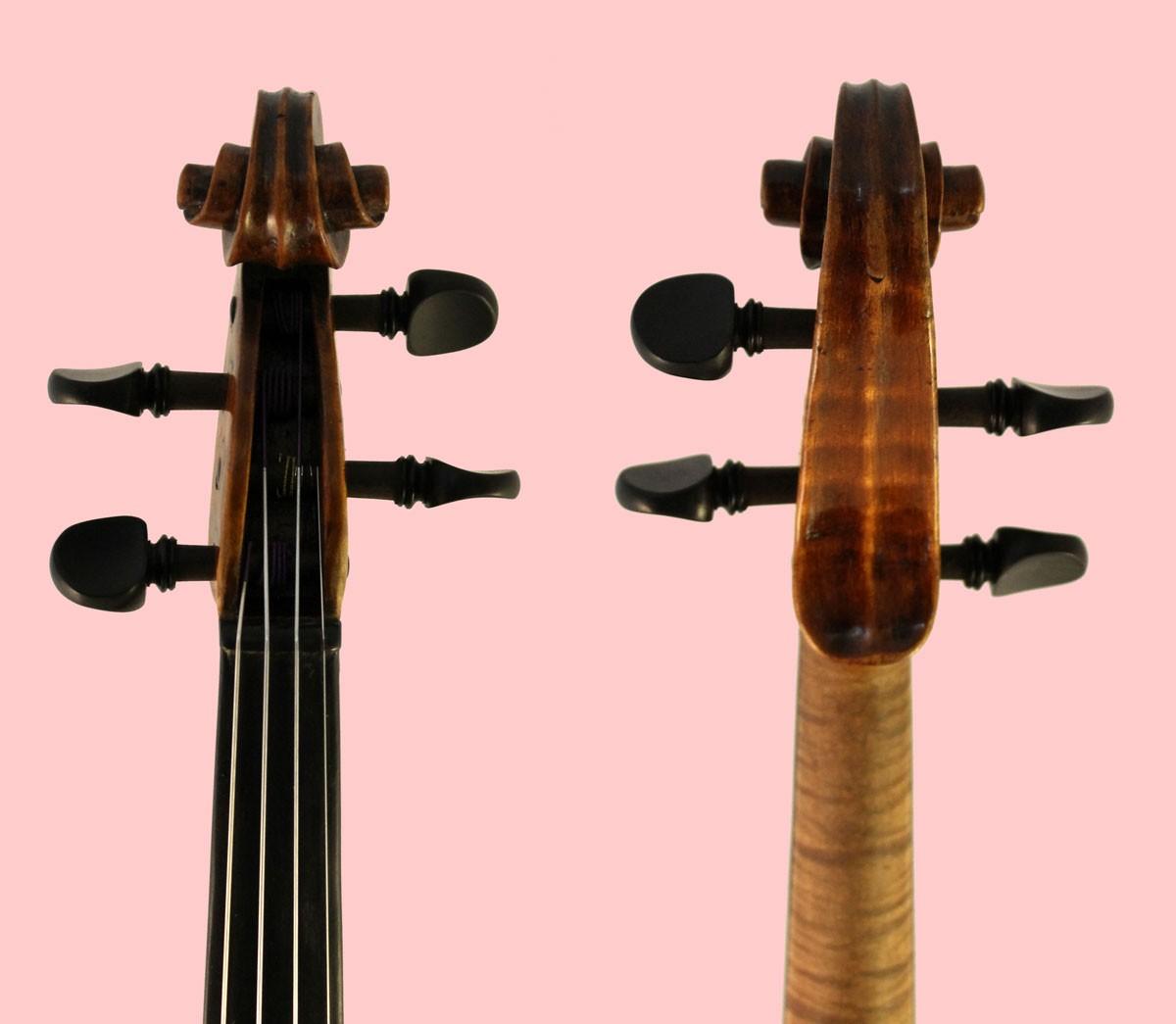 thomas perry violin scroll