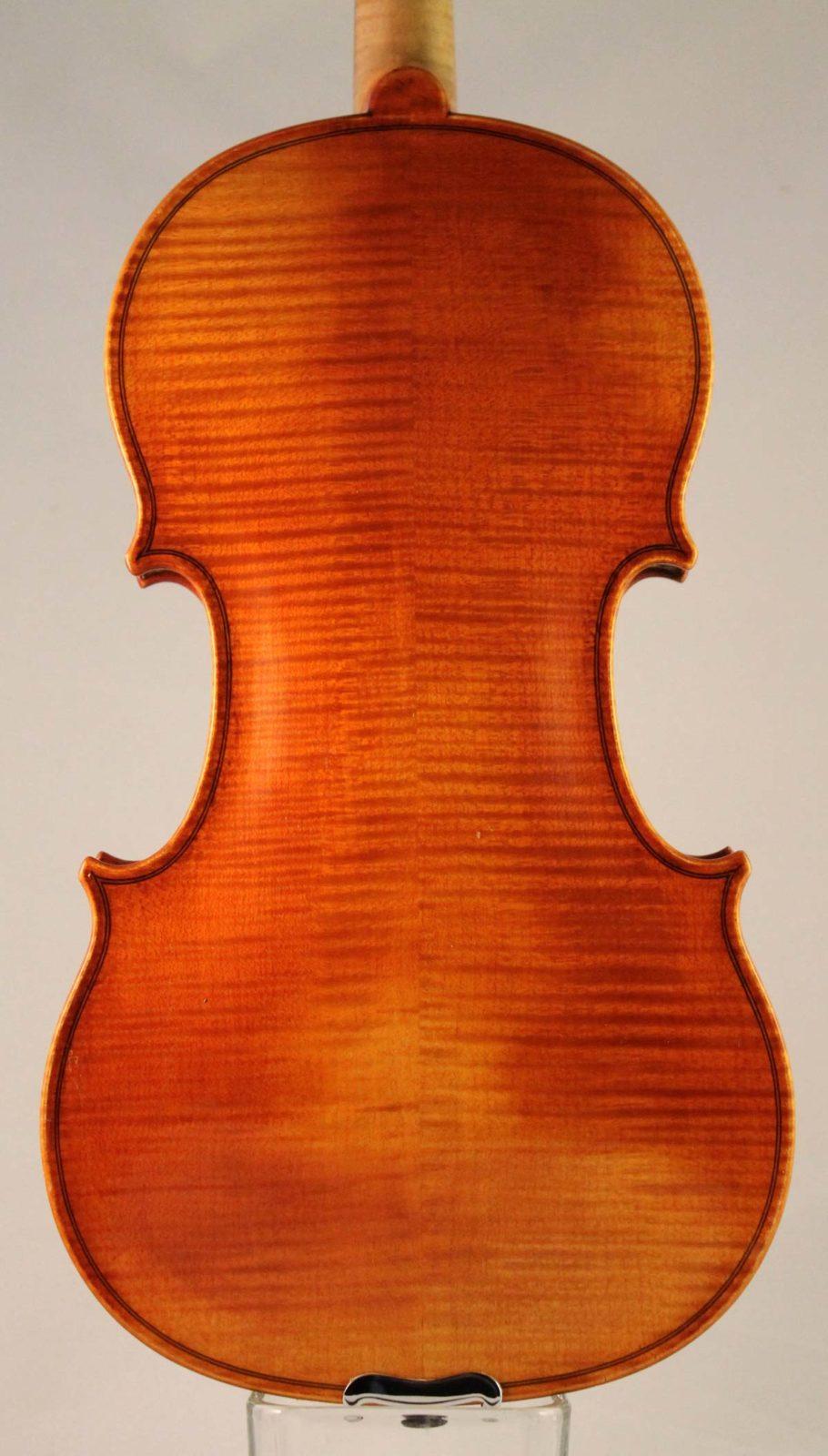 Rudolf Buchner violin back