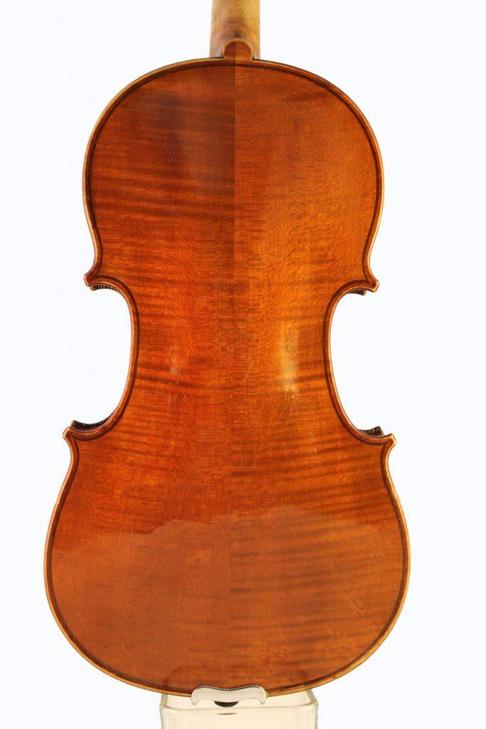Leon Bernardel violin back