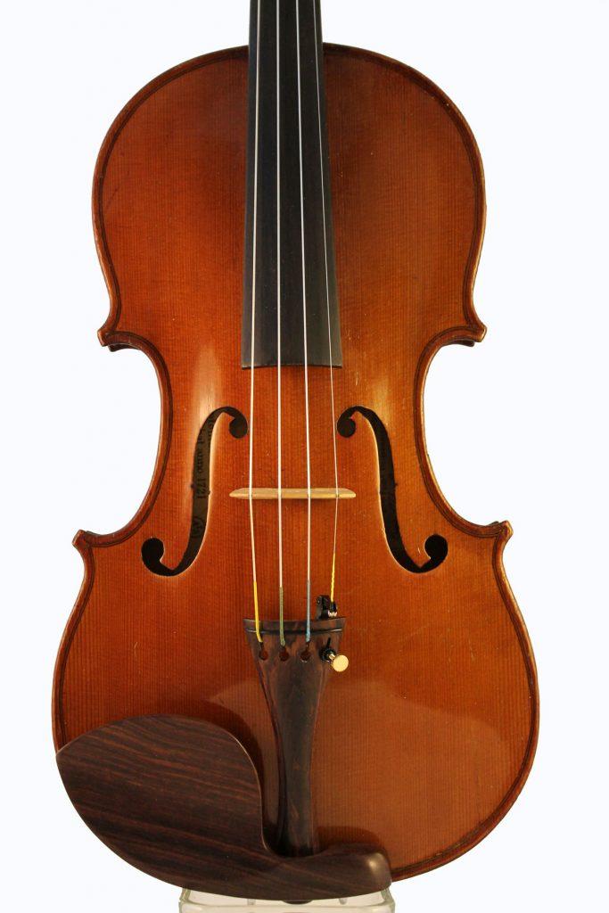 Leon Bernardel violin frint
