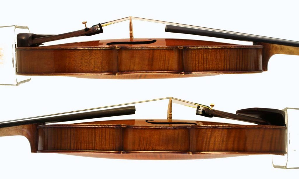 Leon Bernardel violin sides