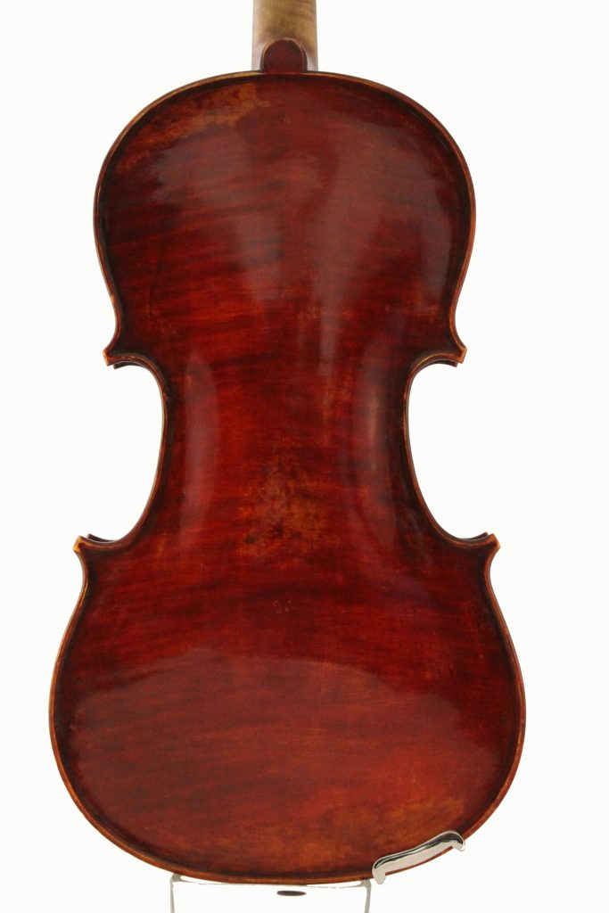 amati mangenot violin back