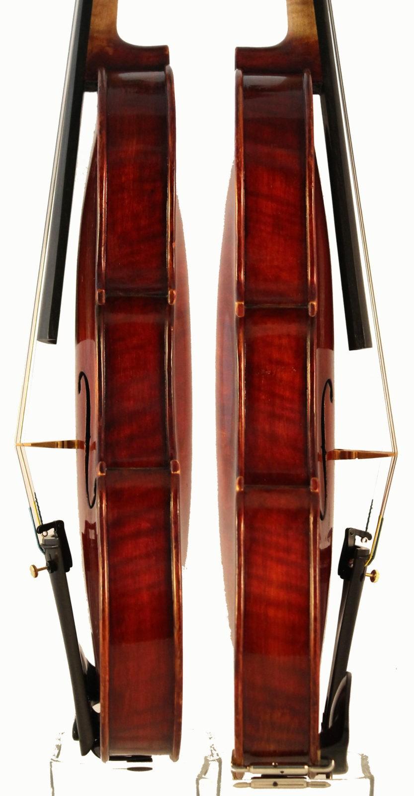 amati mangenot violin sides