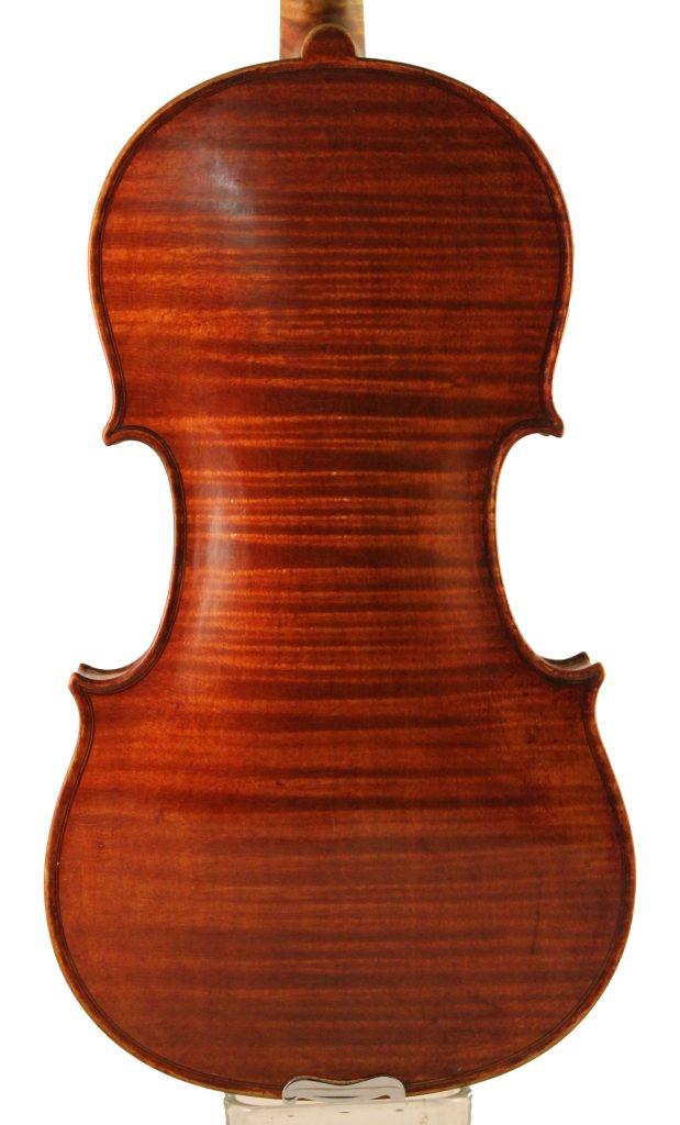 Mathias Heinicke Violin - back