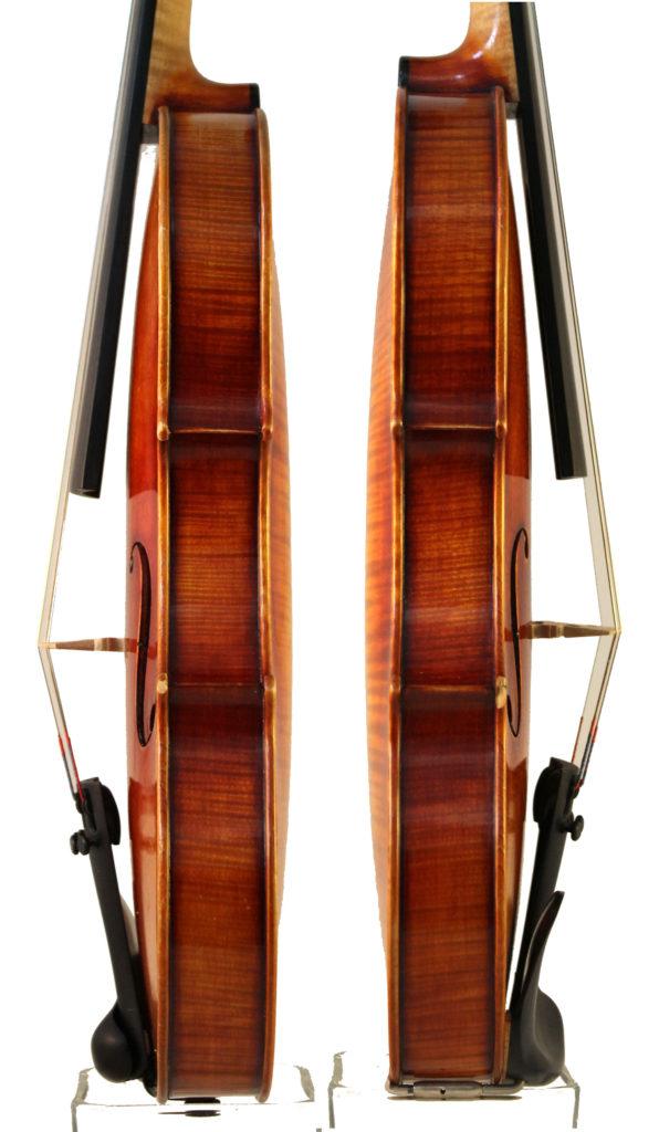 Roman Teller Violin sides