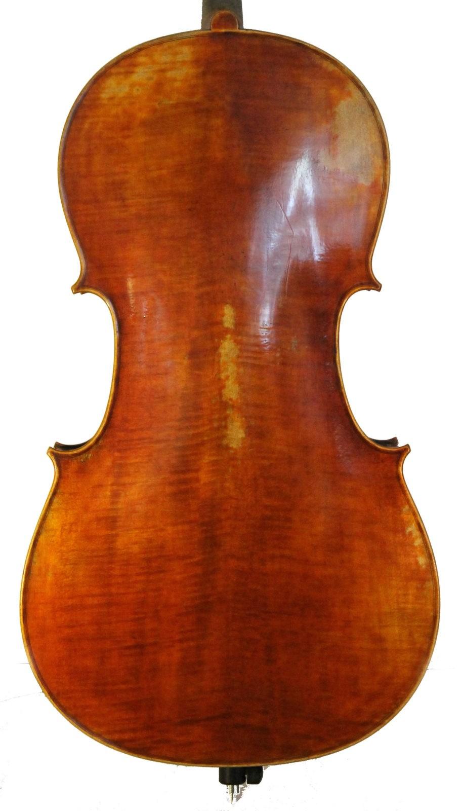 Leon Mougenot Gauche Cello - back