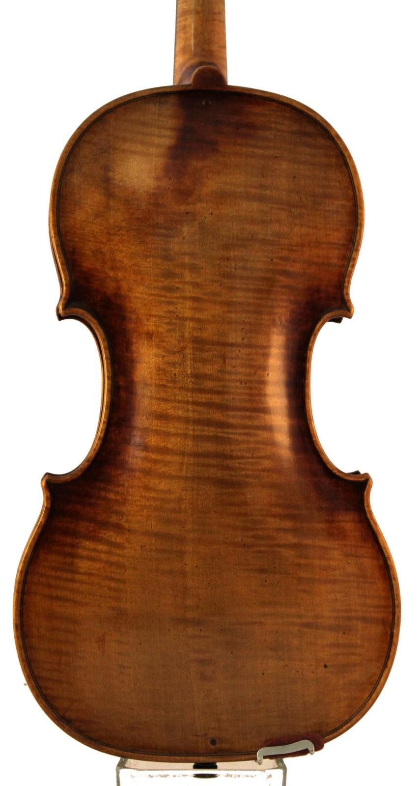 Albin O Schmidt violin back