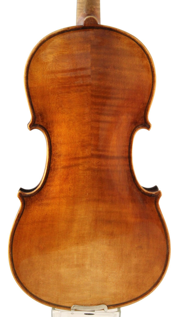 george l dykes violin back