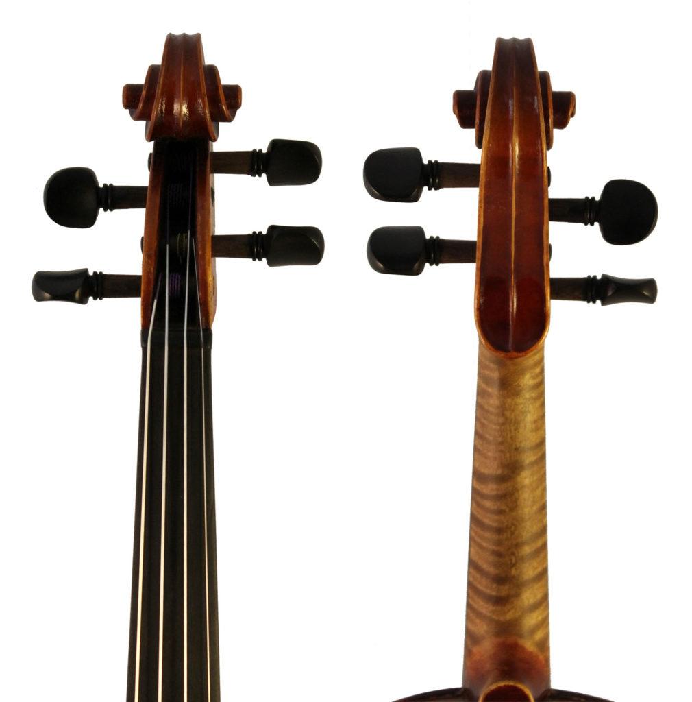 eugen meinel violin scroll