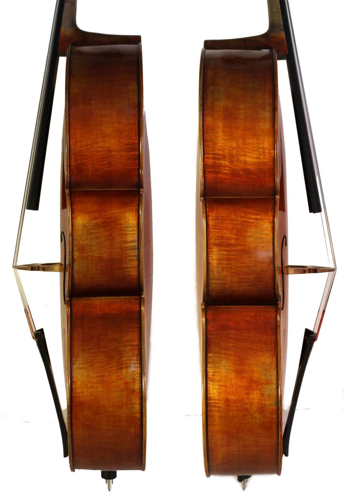 Leon Mougenot Gauche Cello - sides