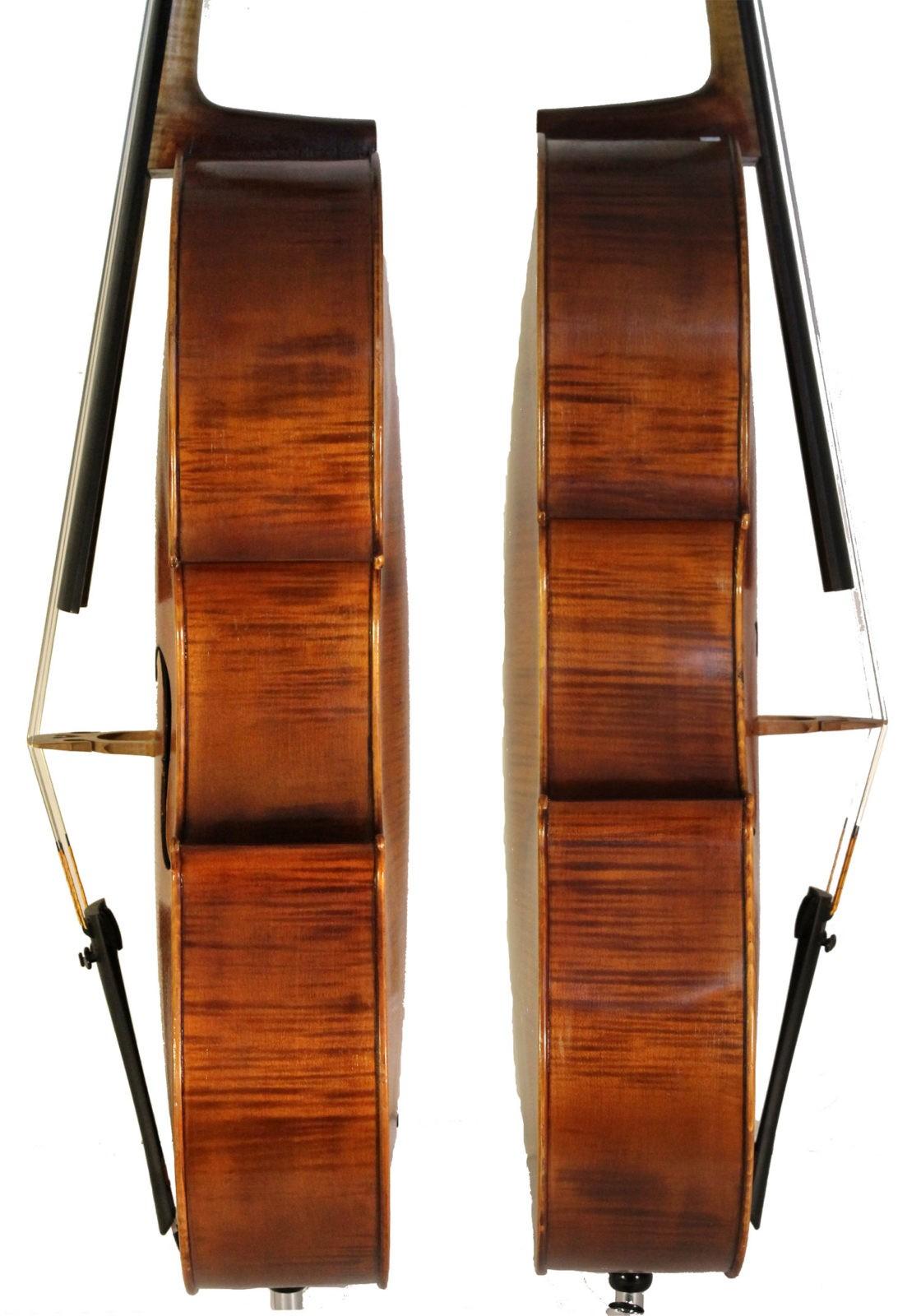 Gennaro De Luccia cello sides