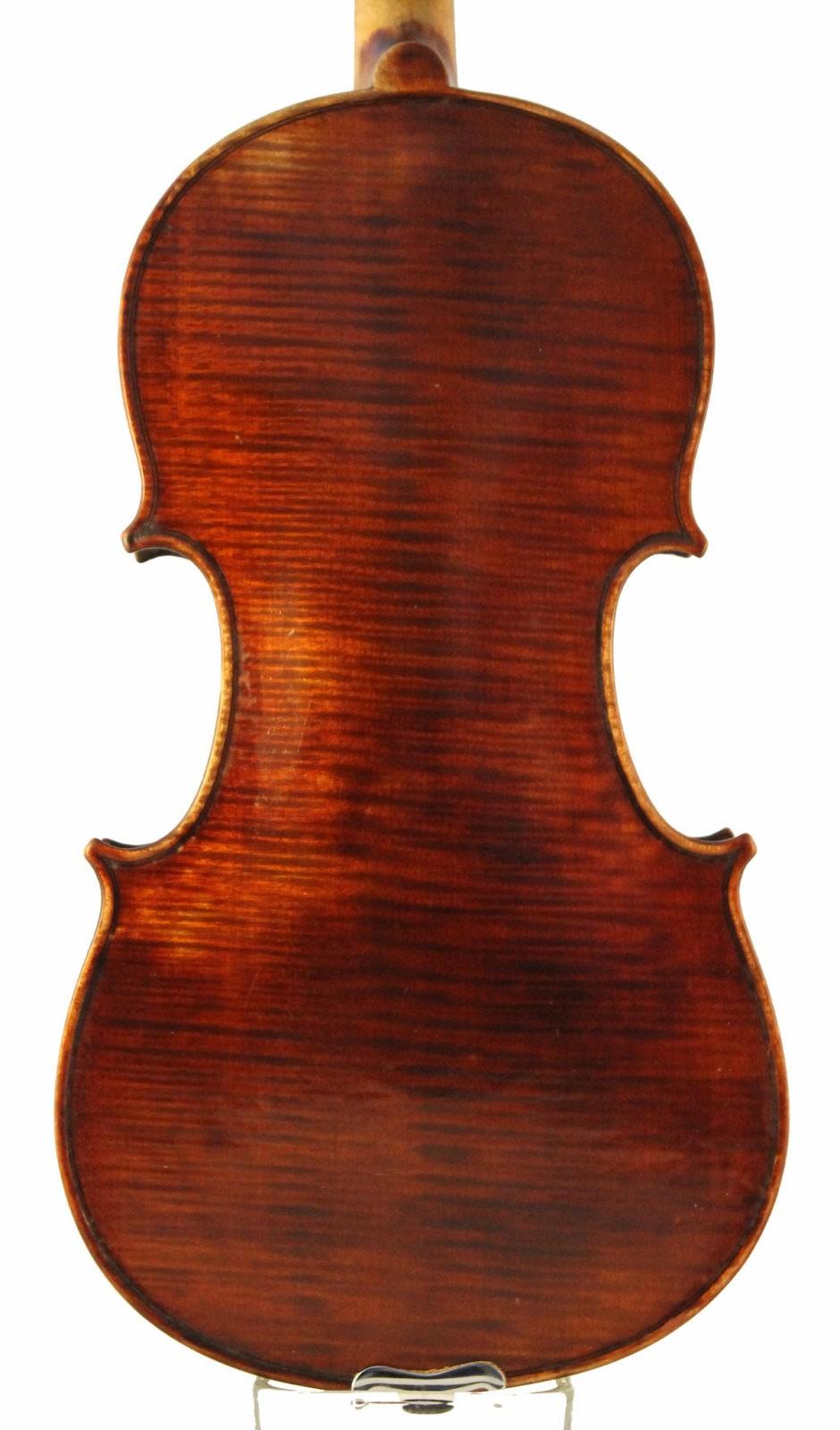french violin collin-mezin back