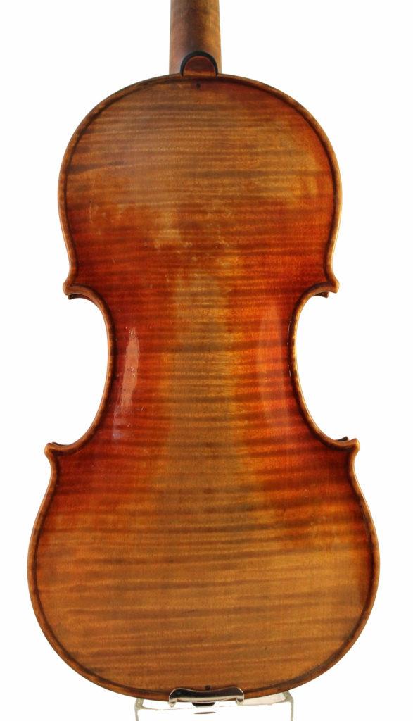 Hermann Geipel violin back
