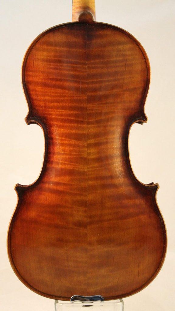 Robert Glier Jr Violin back