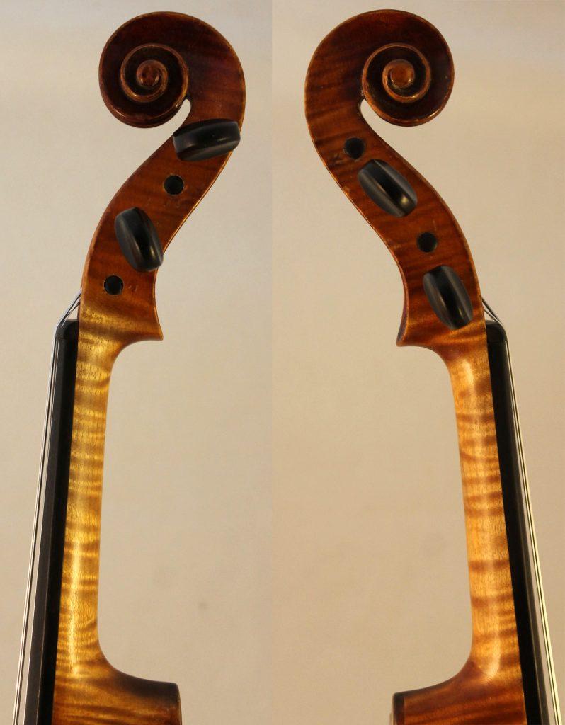 robert glier jr violin scroll