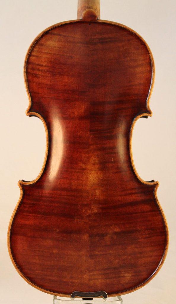 Michele De Luccia violin back
